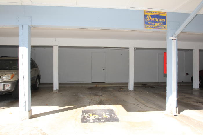Two car tandem carport slot 51 the storage closet is Carport with storage room