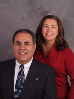 The Pinedo Team: Joe and Teresa Pinedo have been working together for 17 year.